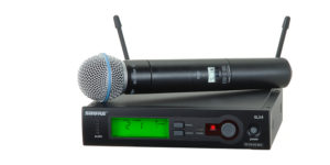 Mic Wireless Shure Beta58